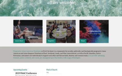 Website Walkthrough: Progressive Asian American Christians