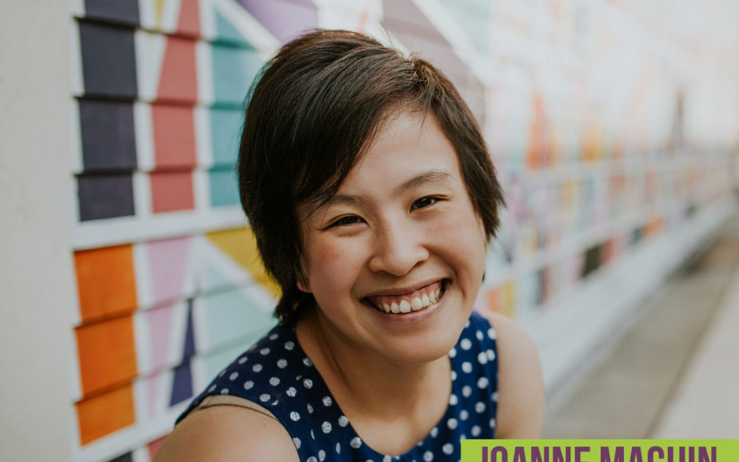 Episode 20: Author, Editor, and Coach Joanne Machin